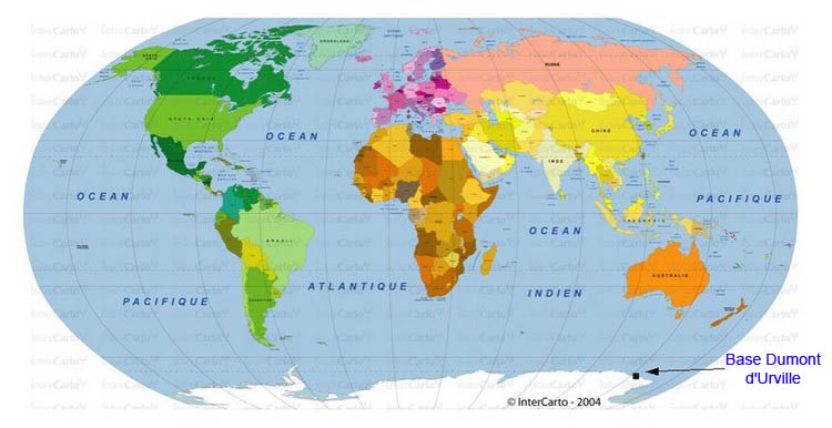 carte de la terre - Image